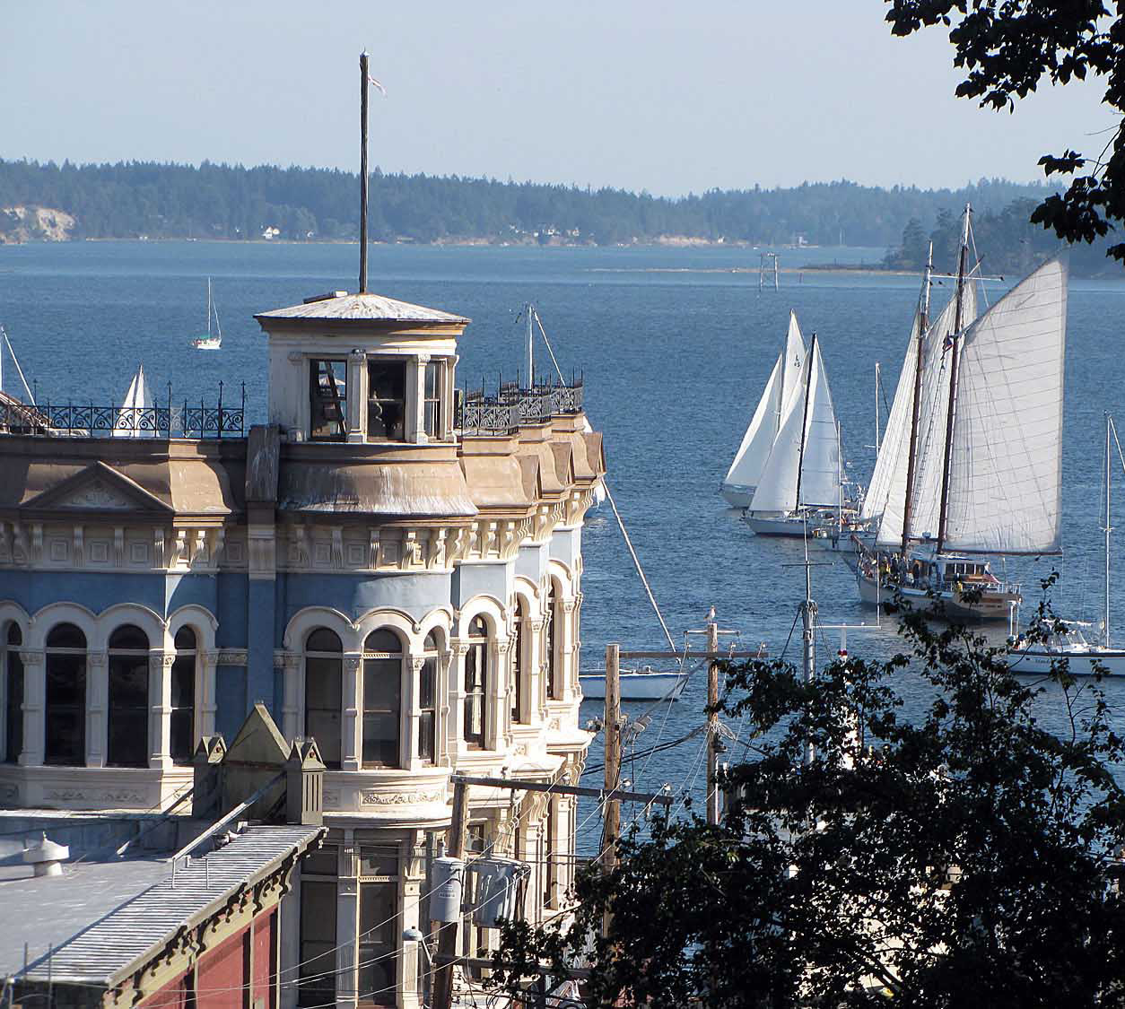 Hastings - port townsend boat view